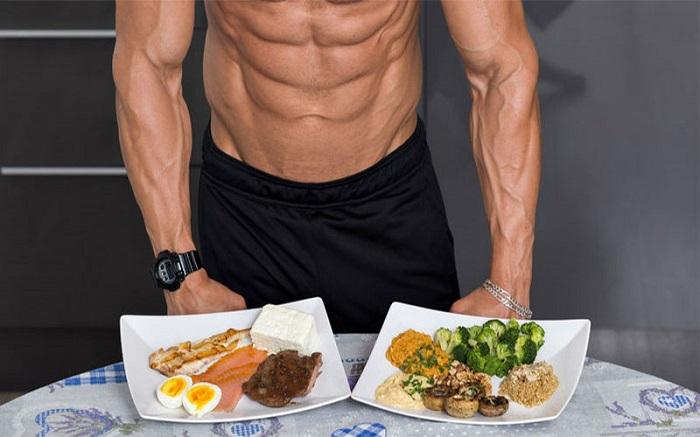 Thực đơn cho người tập thể hình giảm cân